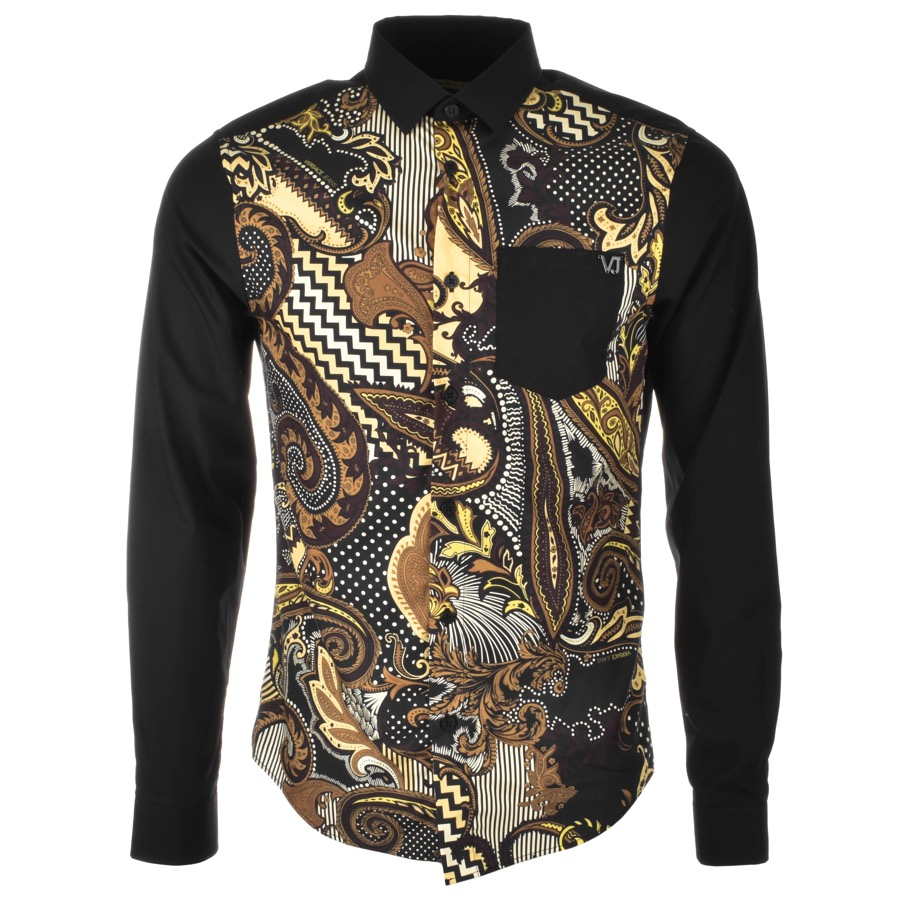 Versace Jeans is a sophisticated diversification of the Versace house with Urban undertones and vivid prints this is signature Versace.